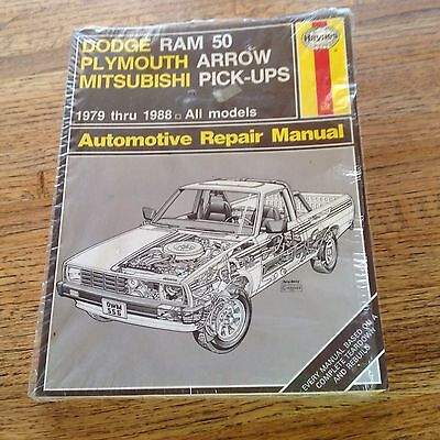 New Dodge/Plymouth/Mitsubishi Pick-Ups 1979-1988 Haynes Repair Manual 556