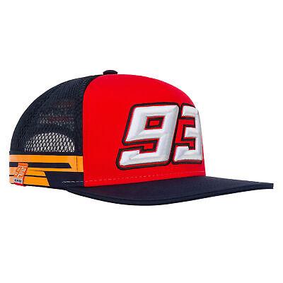 2019 Marc Marquez #93 Official Flatbrim Trucker Cap Repsol Honda Merchandise