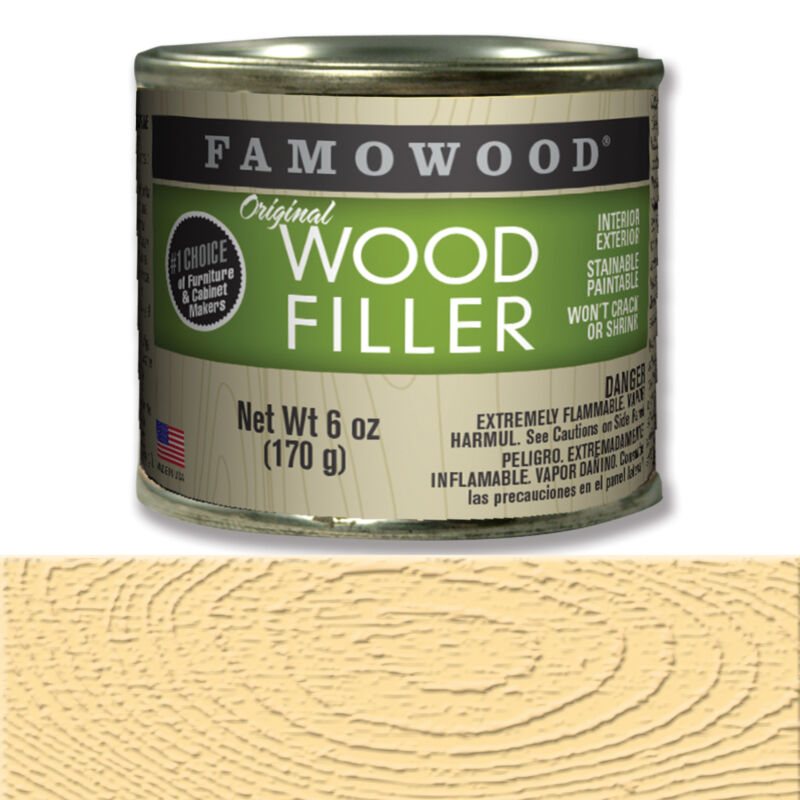 Eclectic Products #36141126 6OZ NAT Pro Wood Filler