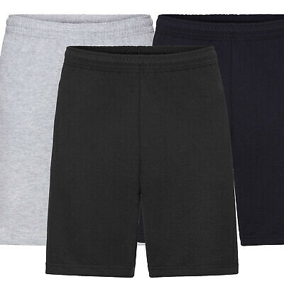 Pantaloncini Leggeri Uomo Bermuda 100% Cotone Con Tasche FRUIT OF THE LOOM
