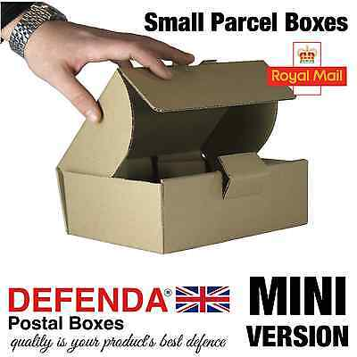 10 x MINI Size Royal Mail SMALL PARCEL BOXES PiP Postal Packet 210mmx157mmx73mm