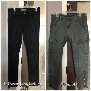 Women's Namebrand Jeans and Dress Pants