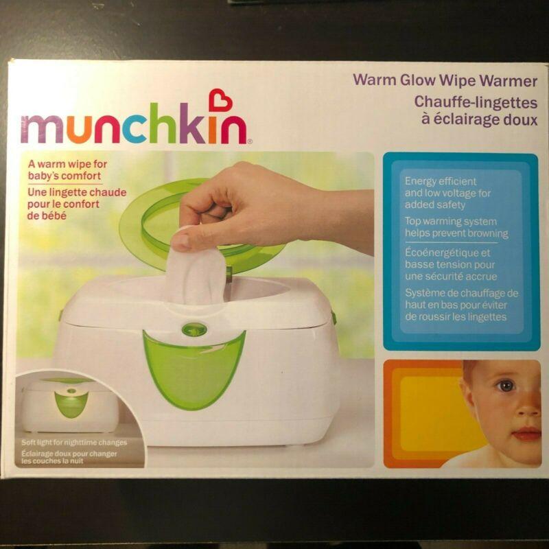 Munchkin Warm Glow Wipe Warmer New in Box