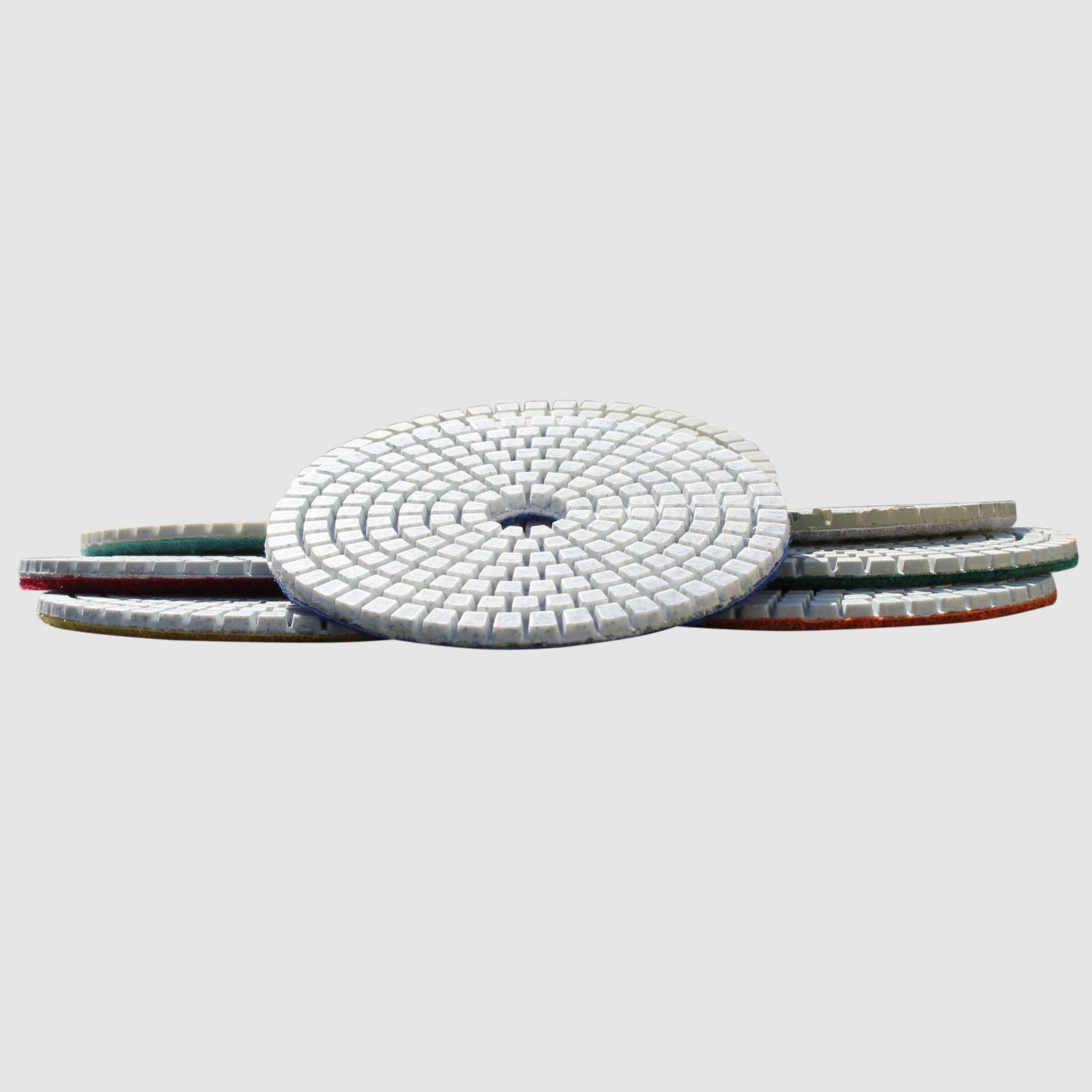 5 Inch Wet Dry Diamond Polishing Pads Sanding Disc