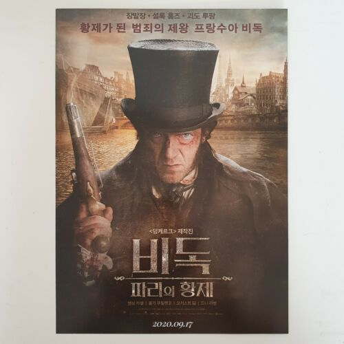 The Emperor of Paris A4 Korean Movie Flyer Mini Poster Ad Wall Art