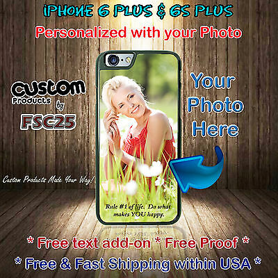 Custom Phone Cases Personalized gifts Your Photo for Apple iPhone 6s PLUS 6