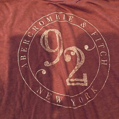 Abercrombie Fitch T Shirt Red Women