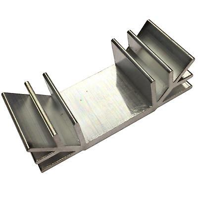 Transistor Heat Sink To3 To126 To220 To247 Aluminium 30x70x19mm