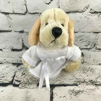 Webkinz Ganz Yellow Labrador Plush Wearing Angel Costume Wings Soft Toy Dog