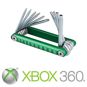 xbox 360 torx security screwdriver opening tool set 6 7 8 9 10 ebay. Black Bedroom Furniture Sets. Home Design Ideas