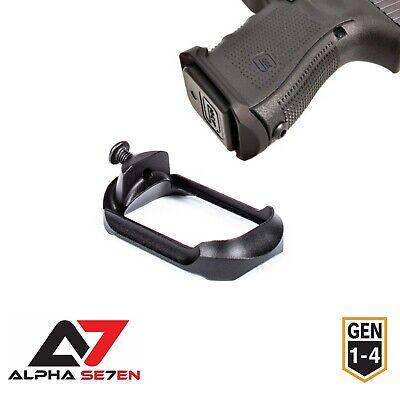 Alpha Se7en Compact PRO Aluminum Flared Magwell Glock 19/23/32/38 (GEN 1 2 3 (Glock 23 Gen 1 2 3 4)