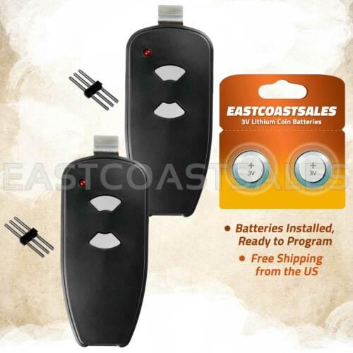 2 For Marantec / Harrison / Martin Garage Door Opener Remote 315 MHz M3-2312 Pin