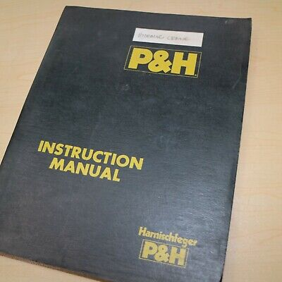 Ph Hydraulic Crane Repair Shop Service Overhaul Manual Book Guide Lattice Boom