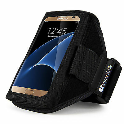 Sumaclife Neoprene Gym Sport Armband Case for Samsung Galaxy S8 / iphone 7 Plus