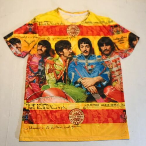 Beatles Sgt Peppers Lonely Hearts Club Band T-Shirt A Unique Creation Mens Sz M