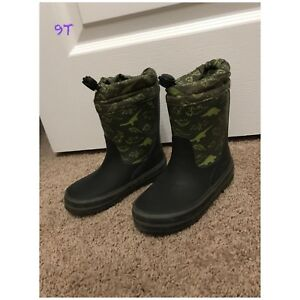Boys rubber boots and shoes