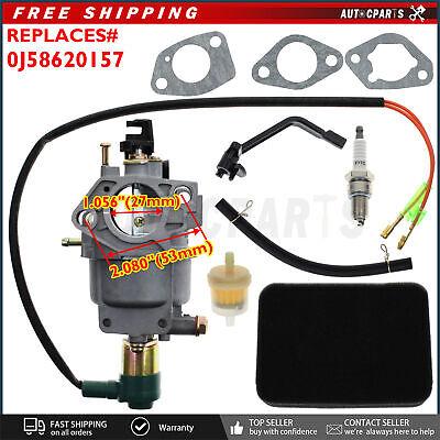 Carburetor For Powermate Pm0146500 Pm0116000 6000 7500 6500 8125 Watt Generator
