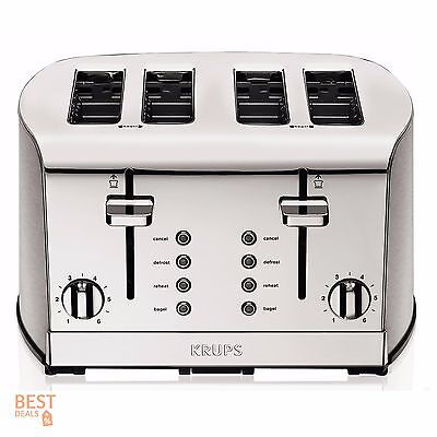 тостеров Commercial Toaster 4 Slice Stainless
