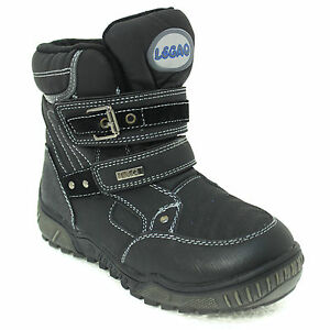 chaussures bottes d 39 hiver b b gar on fille bottes de neige fermeture scratch 34 ebay. Black Bedroom Furniture Sets. Home Design Ideas