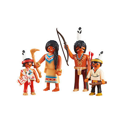 Playmobil Native American Family II Building Set 6322 NEW Toys Kids Educational