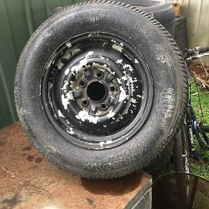 14in valiant wheel and tyre (late model) Heywood Glenelg Area Preview