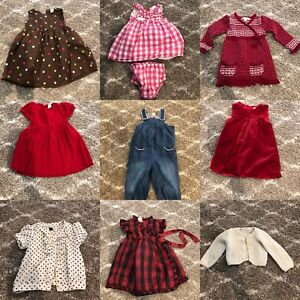 Bag of 12 pieces (12-18 month old) Girls clothes