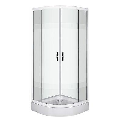 Duschkabine 90 x 90 cm Fertigdusche Dusche Duschwand Duschabtrennung DUSCHTEMPEL