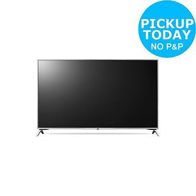LG 43UJ651V 43 Inch 4K Ultra HD HDR Freeview Smart WiFi LED TV - Silver