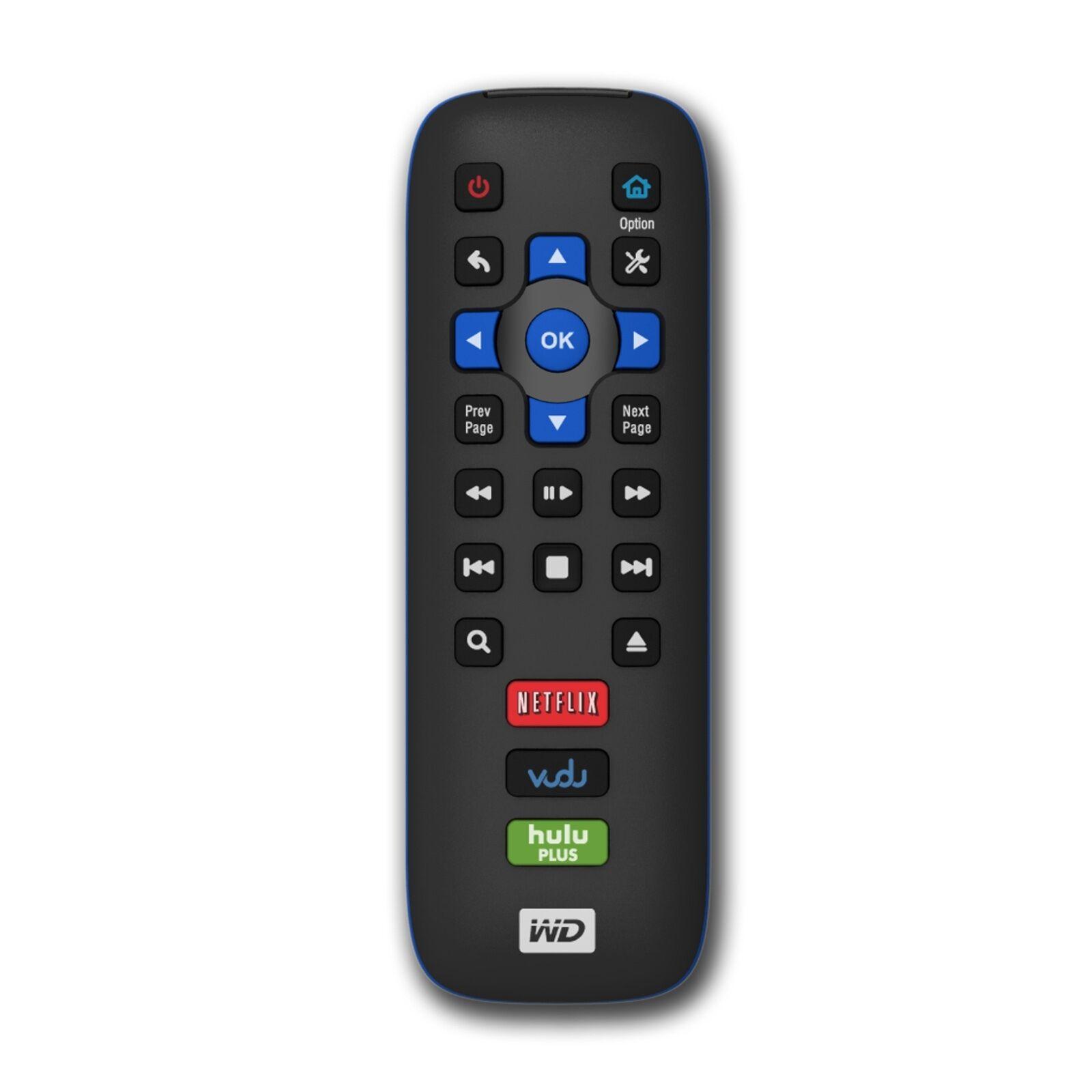 WD TV Play Remote Control For Western Digital WD HD HDTV