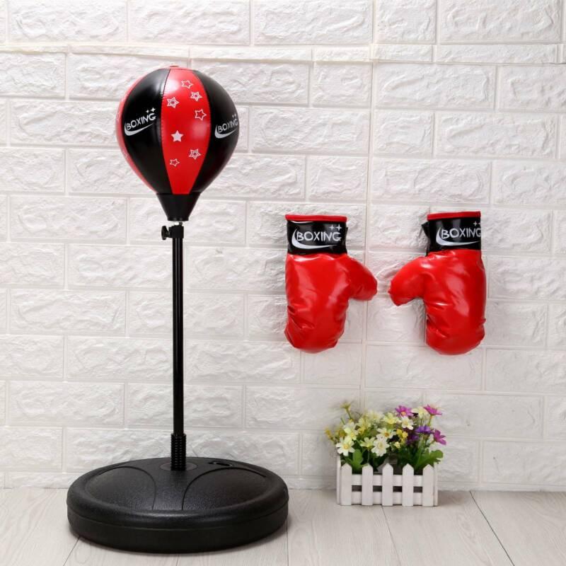Boxen Set Kinder Standboxsack Standbox Punchingball Punching Training Boxbirne