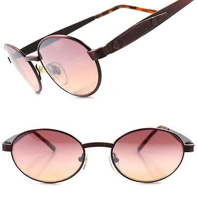 True Vintage Classic Old Fashioned Indie Mens Womens Pink Round Oval (Old Fashioned Sunglasses)