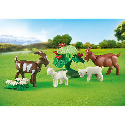 Playmobil Goats With Kids Building Set 6315 NEW Toys Kids Educational