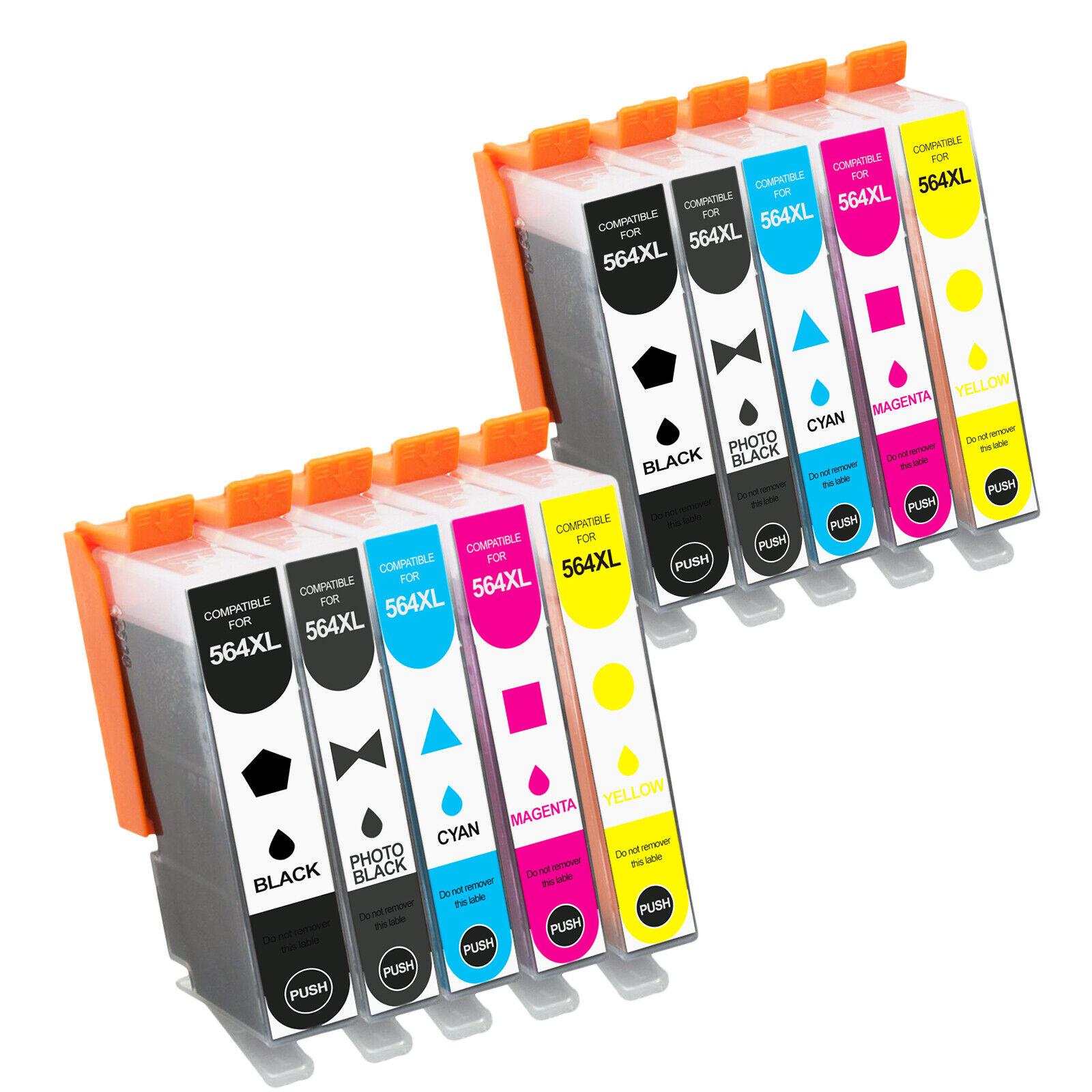 Printer Ink Cartridges For HP 564XL 564 Photosmart 6510 6520
