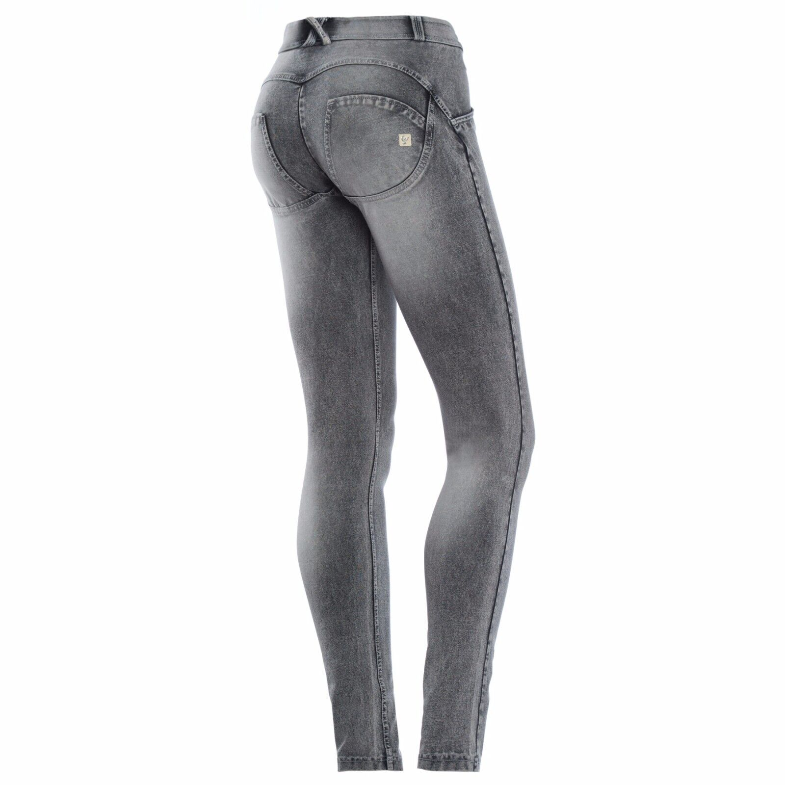 SCONTO 30% FREDDY WR.UP JEANS STONE WASH PANTALONE PUSH UP WRUP1RJ14E REGULAR