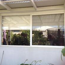 Bradnams Pearl White window and Blockout blind Mango Hill Pine Rivers Area Preview