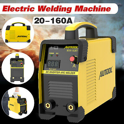 Electric Welding Machine 110220v Mma Arc Igbt Dc Stick Inverter Welder 20-160a