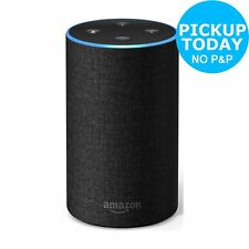 All-new Amazon Echo (2nd Generation) Wireless Alexa Speaker - Charcoal Fabric