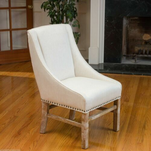Claudia Contemporary Fabric Upholstered Dining Chair Chairs