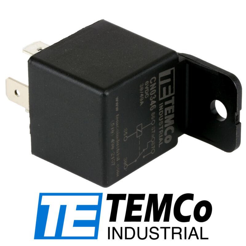 TEMCo Industrial 6 V 30/40 Amp Bosch Style S Relay SPDT Automotive