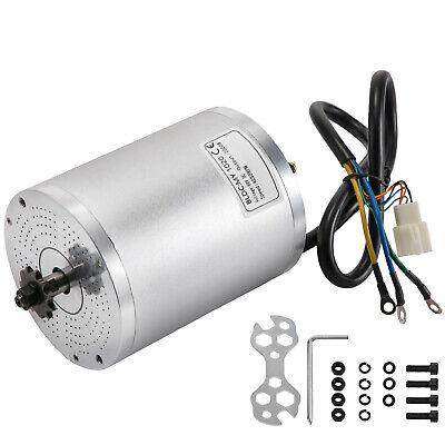 Motor Eléctrico sin Escobillas 60V CC 2000W Motor de CC 4250 RPM...