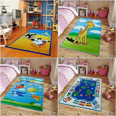 Childrens Educational Playroom Carpet (Kids Area Rug Kids Rugs 5x7 Playroom Rugs Classroom Rug Educational Rug Carpet)