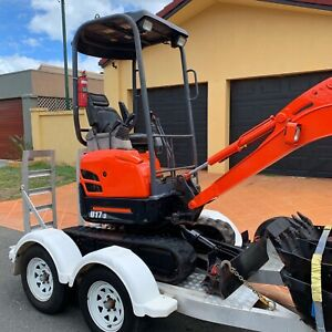 Mini Excavator Hire $160 p/d auger & delivery available