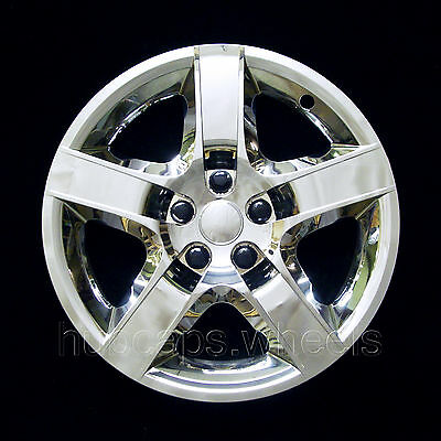 Chevy Malibu 2008-2012 Hubcap - Premium Replacement 17-inch Wheel Cover - Chrome