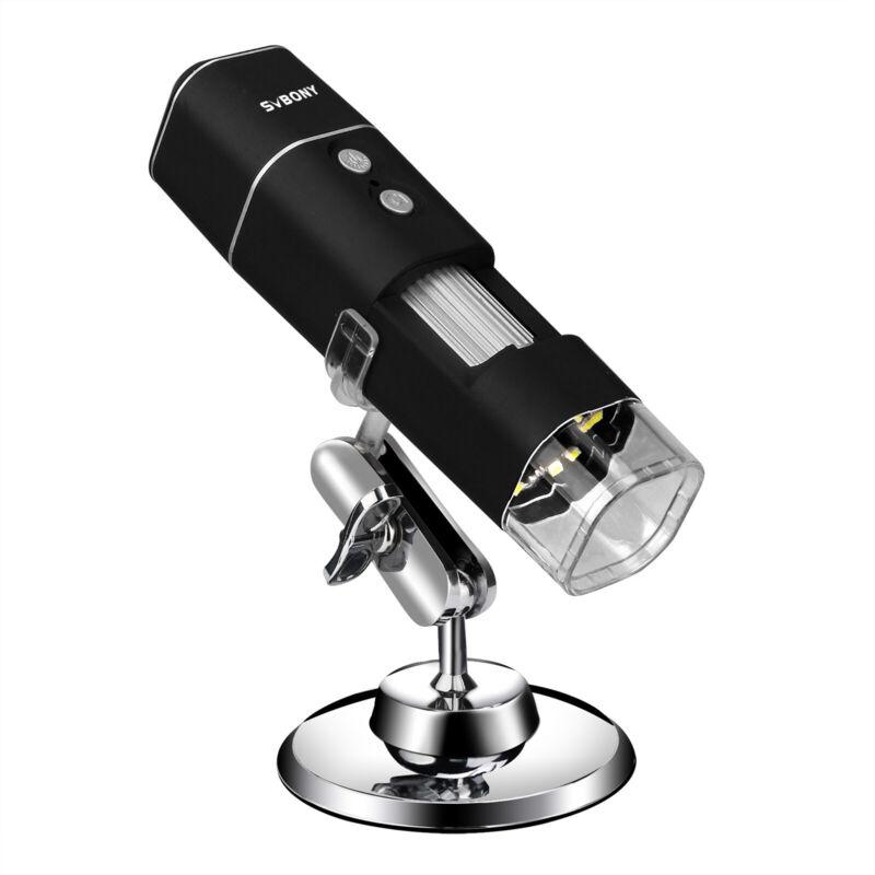 SVBONY SV606 Wireless Digital Microscope 50X-1000X Handheld Portable Mini WiFi