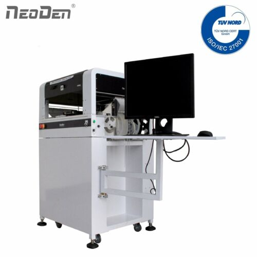 NeoDen4 Stable SMT Pick and Place Machine,4 Heads, 2 Cameras, 16 Feeders, FPGA