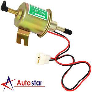 New Universal 12V Gas Diesel Fuel Pump Inline Low Pressure Electric Fuel Pump