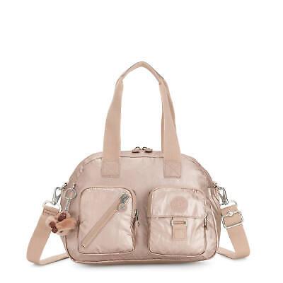Kipling Defea Handbag Quartz Metallic