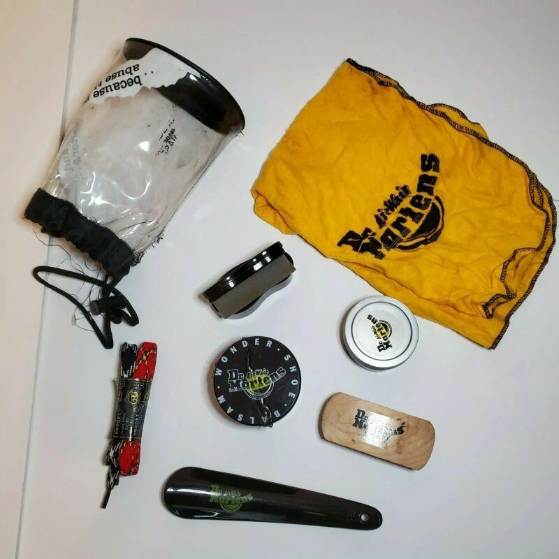 Vintage Dr.Martens Shoe Care Kit- Wonder Shoe Balsam, Black Shoe Cream, Air Wair