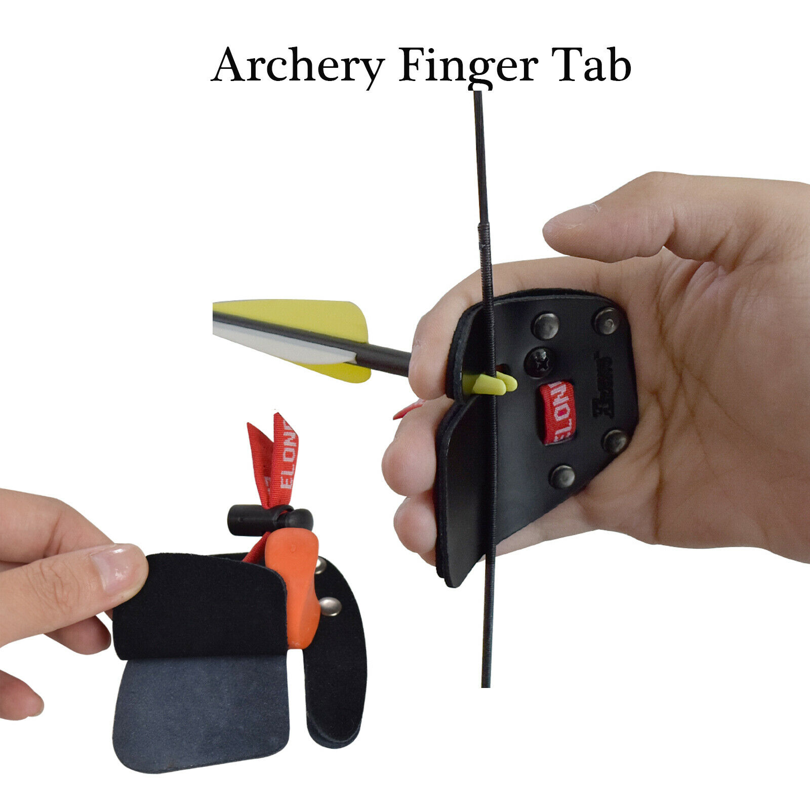 finger guard bowstring finger saver bow release recurve bow protector gear FB