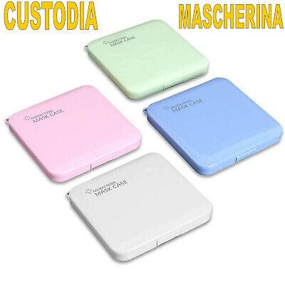Porta mascherine custodia cover L' ORIGINALE organizer portatile box tascabile